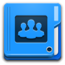 Folder, Image, People Icon