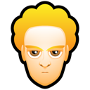 Blond, Male, Man, User, White Icon