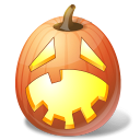 Halloween, Hysterical, Jack, Lantern, Pumpkin Icon