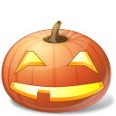 Halloween, Jack, Lantern, Pumpkin, Smile Icon
