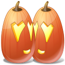 Halloween, Jack, Lantern, Love, Pumpkin Icon