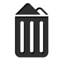 Full, Recyclebin, Trash Icon