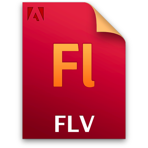 Document, File, Fl, Flv Icon