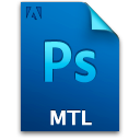 Document, File, Mtlfile, Ps Icon