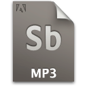 Audio, Document, File, Sb, Secondary Icon