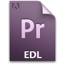 Document, Edl, File, Pr Icon