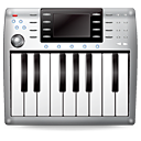 Instrument, Keyboard, Midi, Music, Synth Icon