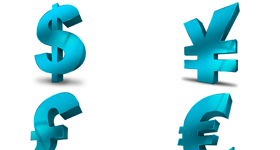 Currency Stock Icon Set Icons