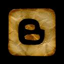 Blogger, Logo, Square Icon