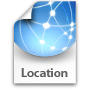 File, Generic, Location Icon