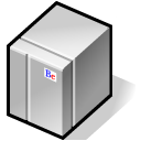 Bebox, Beos, Grey, Hosting, Server Icon
