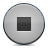Button, Grey, Stop Icon