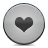 Button, Grey, Heart Icon