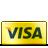 Card, Credit, Gold, Visa Icon
