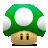 Mario, Mushroom, One, Super, Up Icon