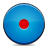 Blue, Button, Record Icon