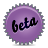 Beta, Splash, Violet Icon