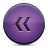 Button, Rewind, Violet Icon