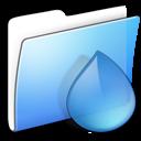 Aqua, Folder, Smooth, Torrents Icon