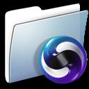 Folder, Graphite, Smooth, Themes Icon