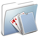 Card, Deck, Folder, Graphite, Smooth Icon