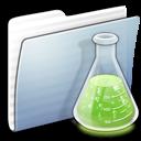 Copy, Experiments, Folder, Graphite, Stripped Icon