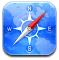 Alt, Safari Icon