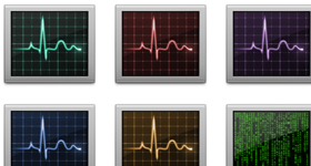 Activity Monitor Icons