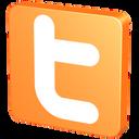 Orange, Twitter Icon