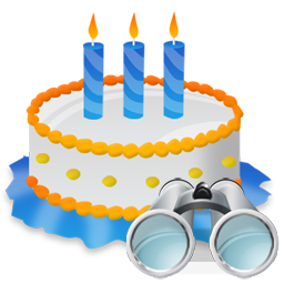 Birthday, Cake, Search Icon