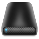 Disk, Drive, External Icon