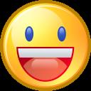 Face, Funny, Happy, Smiley, Yahoo Icon