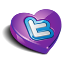 Heart, Love, Twitter Icon