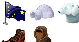 Tiny Alaska Icons