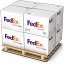 Boxes, Fedex, Shipping Icon