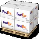 Boxes, Fedex, Shipping Icon