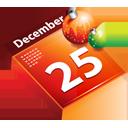 Calendar, Christmas, December Icon