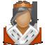 Queen, Royal, User, Woman Icon