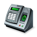 Accounting, Fingerprint, Reader Icon