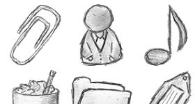 49 Hand Drawn Icons