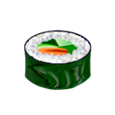 Food, Maki, Salada, Sushi Icon