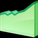 Chart, Graph, Graphic, Line Icon