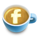 Coffee, Cup, Facebook, Latte Icon
