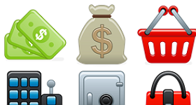 Beta Style Accounting Icons