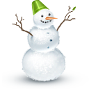 Snowman, Winter Icon