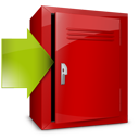 Download, Locker Icon