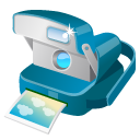 Camera, Polaroid Icon