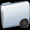 Clock, Folder Icon