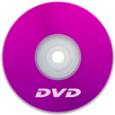 Dvd, Purple Icon