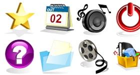 Web Gloss 3D Icons